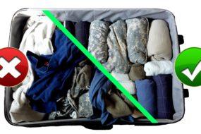 Как да опаковаме багаж за самолет
