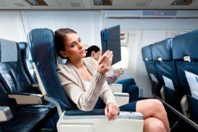 С какво да се заемем по време на полет в самолета