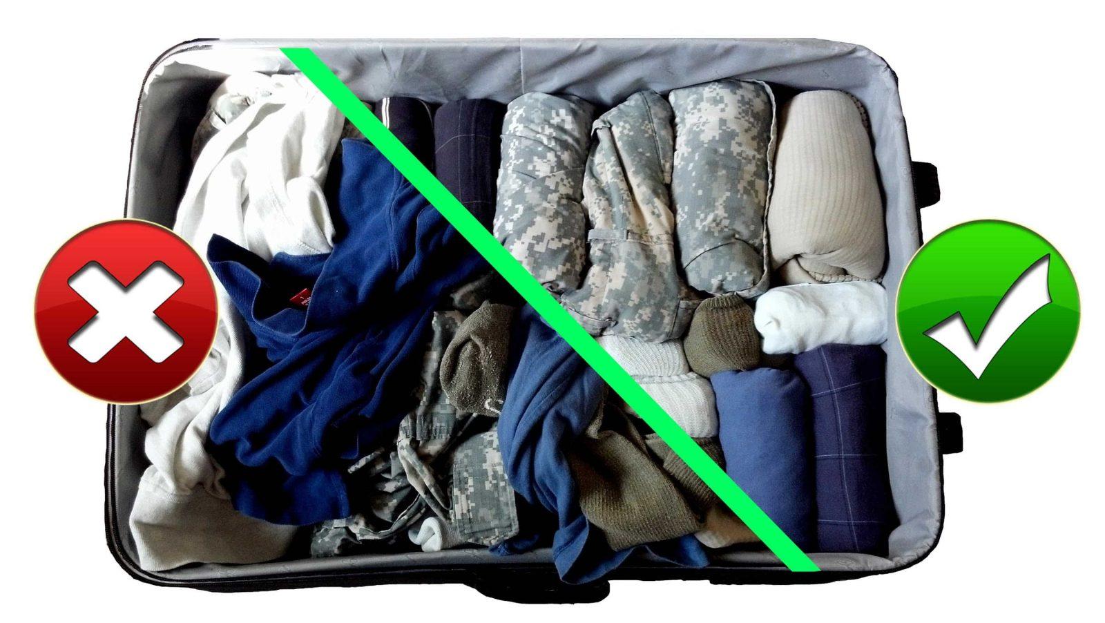 Как да опаковаме багаж за самолет-1