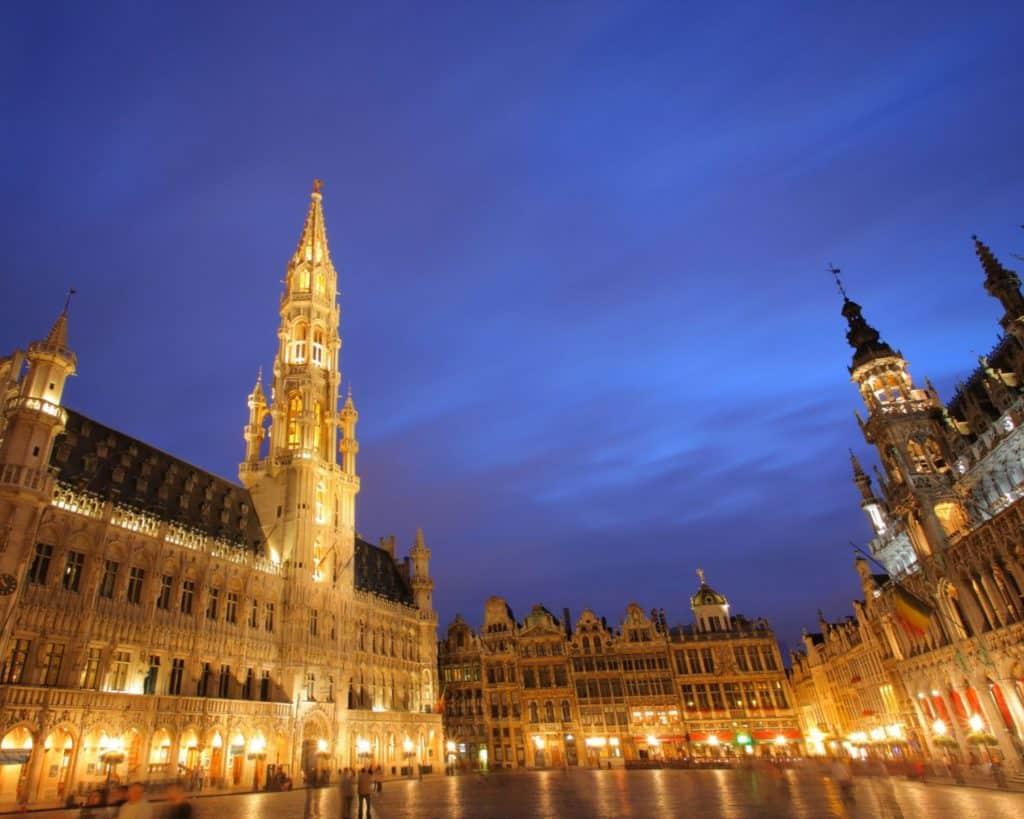 Намерете евтини самолетни билети Брюксел до София.