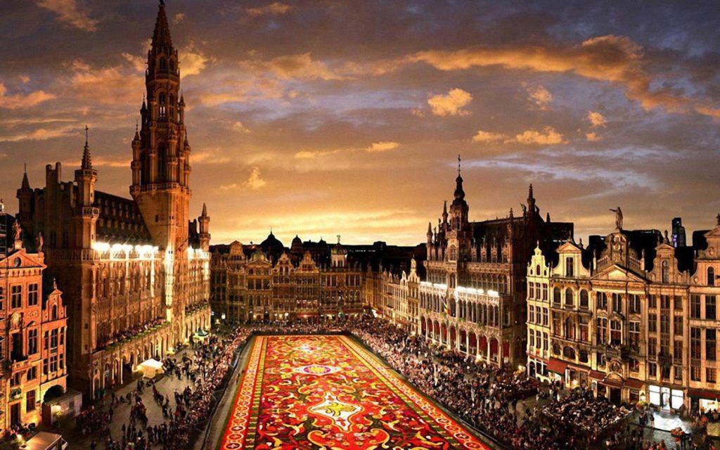 Искате самолетен билет до Брюксел?