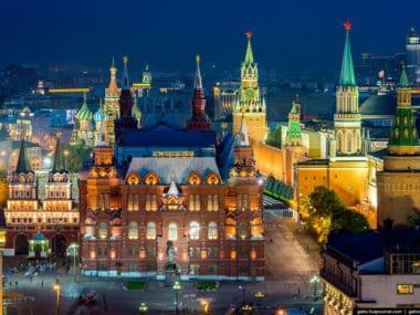 Евтини самолетни билети до Москва